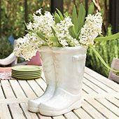 Wellies Flower Pot (Or shrimp boots for the SE Louisiana folks)