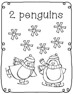 Free! My Winter Coloring Book!
