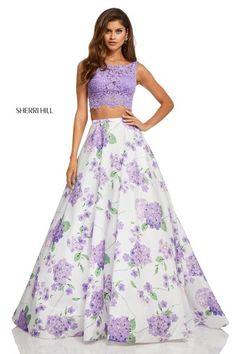 1665e4c094 Sherri Hill  52870. Ball Gown Dresses