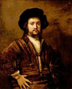 Retrato de hombre, cuadro de Rembrandt, vendido por 23 millones de euros en el año 2009