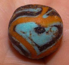 16mm Ancient Roman Mosaic Glass Bead, 1800+Years Old | eBay