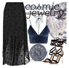 """Cosmic Jewelry: Pisces"" by chey-love ❤ liked on Polyvore featuring Seletti, Bling Jewelry, Boohoo and Gianvito Rossi"