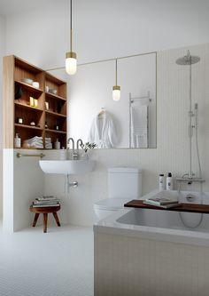 Enkelt DIY-klapptips för badkaret - Badrumsdrömmar