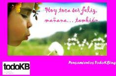 www.todokb.com Pensamientos todoKBing, pensamientos positivos.  alquiler temporal de trasteros y almacenes en Pamplona.