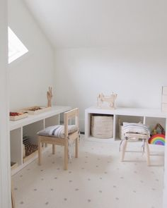 Creating a Montessori inspired play space.