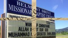 Tiny Church at War with Islam