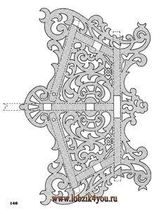 Художественное выпиливание .:. Classic Fretwork Scroll Saw Patterns (Sterling 1991 год)_147