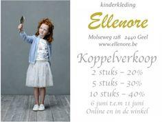 Koppelverkoop kinderkleding Elle Nore -- GEEL -- 06/06-09/06