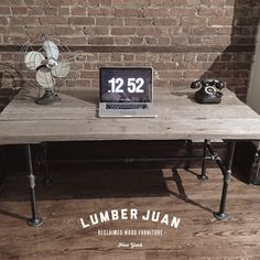 Reclaimed Wood Dining Table / Desk by LumberJuan on Etsy