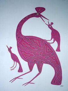 Folk Art, Moose Art, Christmas Ornaments, Holiday Decor, Animals, Painting, Animaux, Animales, Painting Art