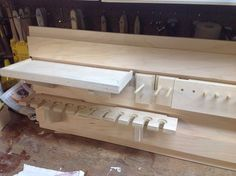 Cabinets French cleat system - by John Lowell @ woodworking community