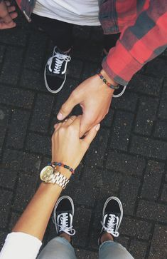 For more: @MissMind #Couple #goals | Vans | #fashion #style #bracelet #mensfashion #love #cute #couple #couplegoals