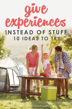 Simplicity In Life, In Lieu Of Gifts, Movies Under The Stars, Frugal Living Tips, Family Traditions, Feeling Overwhelmed, Go Camping, Ways To Save Money, Saving Money