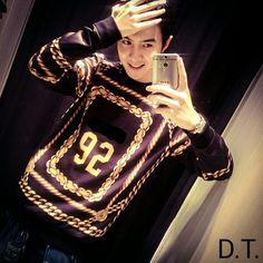 92我的生日數字,hahaa! Danson Tang, Graphic Sweatshirt, Type, Fashion, Moda, Fashion Styles, Fashion Illustrations