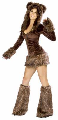 Teddy Bear Dress Sexy Costume