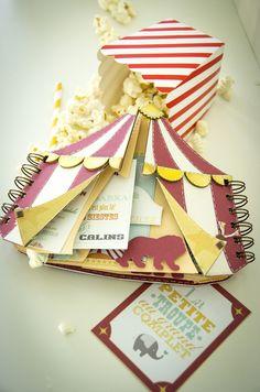 The Celian Circus, box and baby album - Scrapbook.com