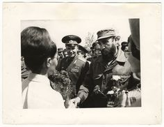 [Fidel Castro visiting the USSR]