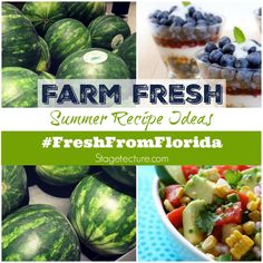 Farm Fresh: Why I Love Making Recipes Using Fresh From Florida Foods. This season see what fresh fruits, vegetables and seafood are perfect for summer recipes and delicious bbq meals. #ad #IC #FreshFromFlorida