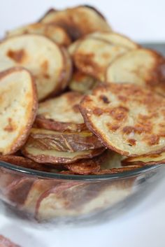 Baked Potato Chips - the healthy way to snack.