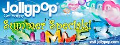 Summer '14 is Awash with Free JollyPops! Personalized Clips, CuddleSquare, Spunky & more!