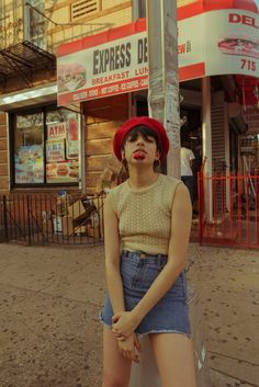 Jailene Muñoz (@jailenemunoz) by Diego Palomino (@diegopalomino). Buscwick, Brooklyn NY 2017.