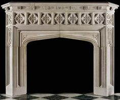Westland London is one of the world's premier sources of antique European fireplace mantels and carries fascinating examples of all styles and eras! Antique Fireplace Mantels, Stone Fireplace Mantel, Fireplace Design, Marble Fireplace Surround, Marble Fireplaces, Fireplace Surrounds, Exterior Design, Interior And Exterior, Gothic Bathroom