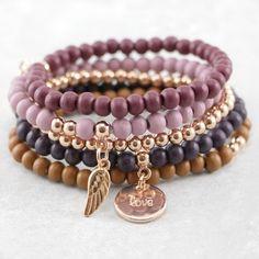 Memory Wire Bracelets, Gemstone Bracelets, Diy Jewelry, Handmade Jewelry, Jewelry Making, Diy Leather Bracelet, Armband Diy, Bracelet Designs, Bracelet Making