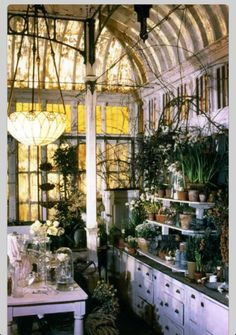 Green house from the movie Practical Magic - LOVE