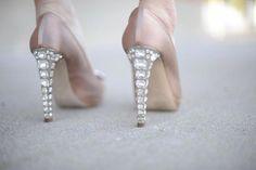 af3d6d30e Crystal Miu Miu Heels Via Cupcakes and Cashmere #MiuMiu Bling Heels,  Sparkle Heels,