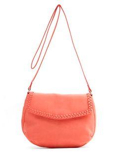 This #Mango braided #messengerbag is a total #steal! #bargain #budget #handbags