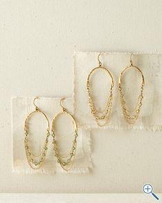 I actually like these chain earrings