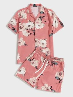 Floral Shirt Outfit, Floral Print Shirt, African Dresses Men, African Shirts, Nigerian Men Fashion, African Men Fashion, Tomboy Fashion, Look Fashion, Fashion Outfits