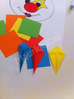Trabalhos feitos à mão em momentos de inspiração!!! E porque partilhar é bom....................        Handmade crafts for kids! Kids Crafts, Preschool Crafts, Diy And Crafts, Arts And Crafts, Birthday Chart Classroom, Birthday Charts, Cute Girl Drawing, Paper Crafts Origami, Diy Christmas Ornaments