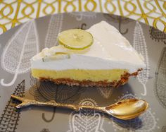 For the top... Key Lime Pie 1 cup whipping cream. 1/4 cup sugar, 1/4 tsp vanilla.