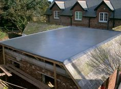 Flat Roof To Pitched Roof Junction Detail Google Search