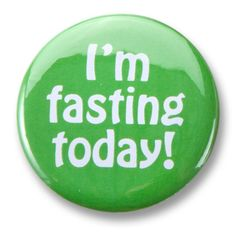 Party Souq - I'm Fasting Today Buttons|10 pcs, $ 35.00