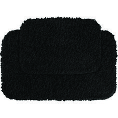Black Bathroom Rug Sets - It's the desire of every homeowner to make her or his bathroom risk free. The bathroom floor become Bathroom Mat Sets, Bathroom Rugs And Mats, Bath Rugs, Bathroom Ideas, Downstairs Bathroom, Design Bathroom, Bathroom Interior, Black And Gold Bathroom, White Bathroom