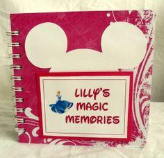 Personalized Disney Autograph book scrapbook by lovethatscrap, $28.00