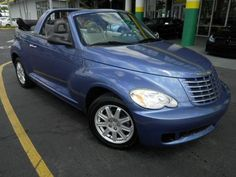 2007 PT Cruiser Convertable. A fun, reliable commuter. It's now gone, replaced with a Hyundai Santa Fe.