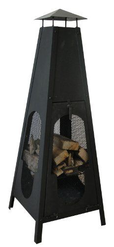 Outside. Wood burning. Fire place. Lovely for. Patio. Or. Decking. Or balcony
