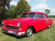1955 CHEVROLET 210 CUSTOM 2 DOOR HARDTOP - 157708