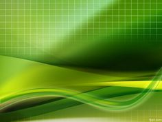 #powerpoint - abstract green