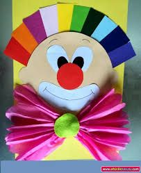 This page has a lot of free Clown craft idea for kids,parents and preschool teachers. Kids Crafts, Clown Crafts, Circus Crafts, Carnival Crafts, Summer Crafts, Preschool Crafts, Diy And Crafts, Arts And Crafts, Paper Crafts
