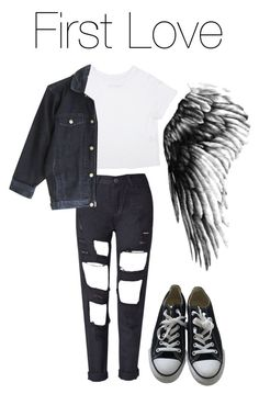 """""""BTS Wings: First Love"""" by kookiechu ❤ liked on Polyvore featuring Converse"""