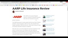 Life Insurance AARP Review Rates