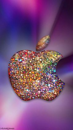 Download Apple With Sprinkles 640 x 1136 Wallpapers - 4540649 - Sparkles Apple iPhone Sprinkles   mobile9