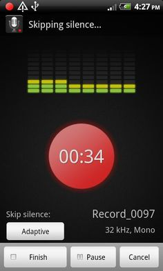 Smart Voice Recorder - records audio not including silence.