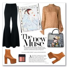 """""""Muse"""" by hellodollface ❤ liked on Polyvore featuring STELLA McCARTNEY, Marco de Vincenzo, Balenciaga, NARS Cosmetics and bellsleeves"""