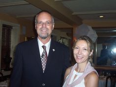 Dr. Bill Andrews and Chrystelle Rondin
