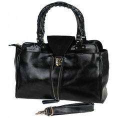 Leren Satchel Handtas. Met deze tas maak jij je outfit helemaal compleet. De tas heeft meerdere vakken aan de binnenkant en is geheel afsluitbaar met een rits. Ook heeft de tas een extra schouderhengsel om hem schuin te kunnen dragen.